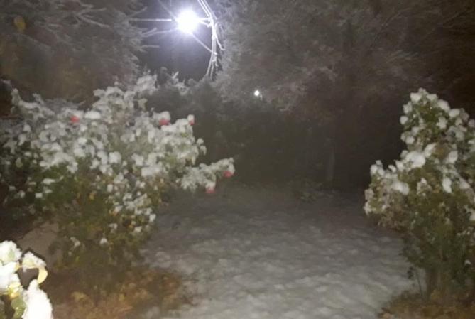 ¡FRÍO, FRÍO! Lluvia, escarcha y nieve en Iglesia