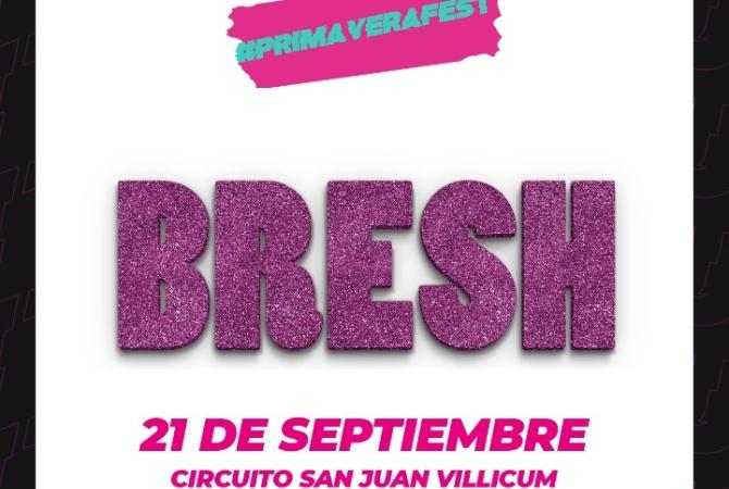 El 21 de setiembre cierra con la Bresh en el Villicum