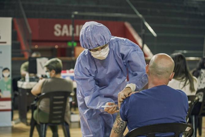 SEGUNDA DOSIS DE SPUTNIK: ya vacunan a mayores de 80