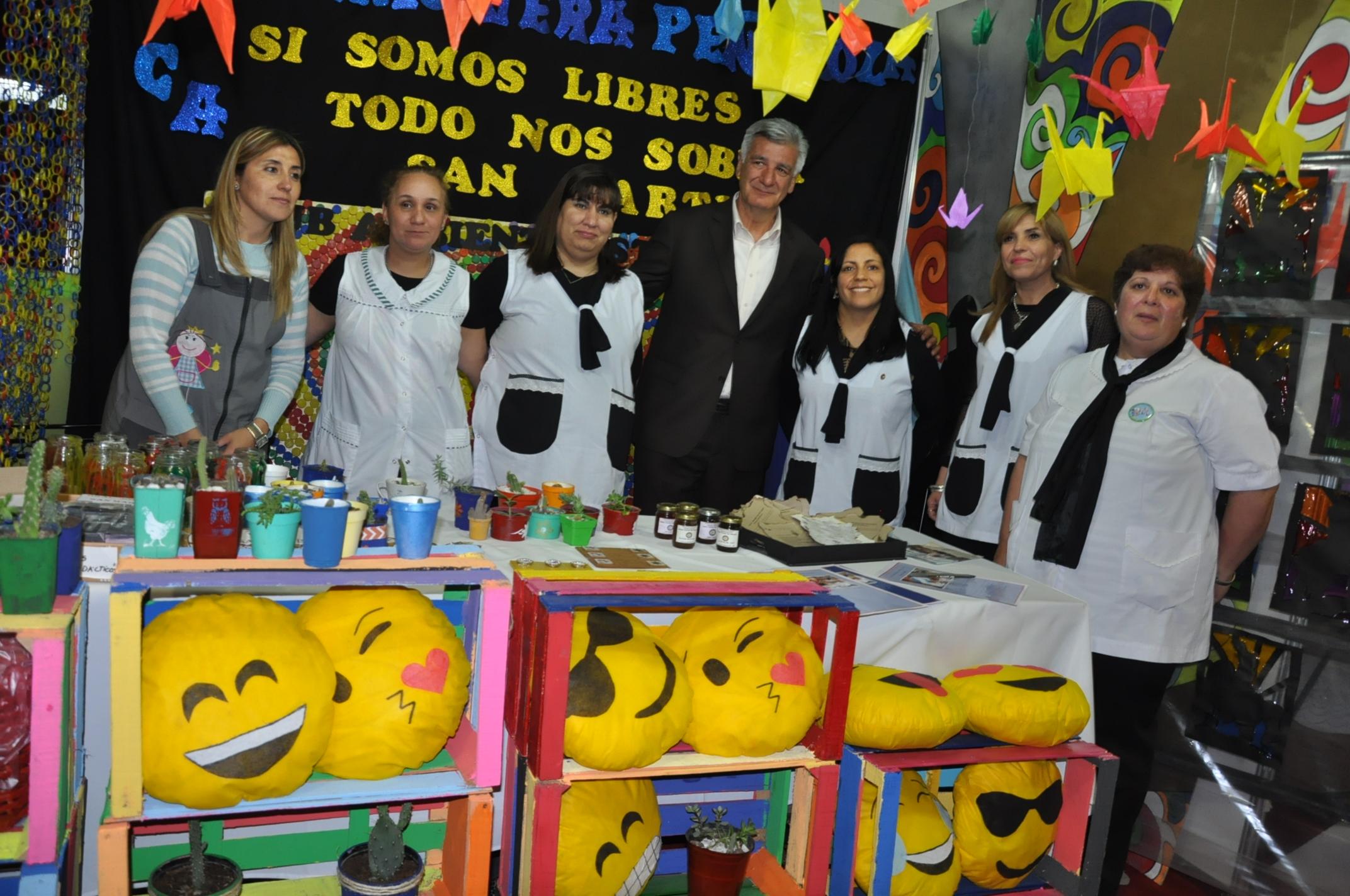 Con Porchetto como invitado, abrió la Feria de la Cultura y el Libro