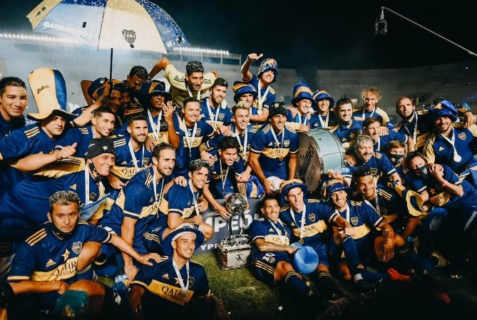 A Boca San Juan le sienta bien: se quedó con la copa Maradona