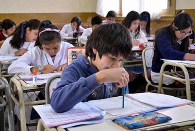 Evalúan hoy a 20 mil alumnos en el operativo Aprender