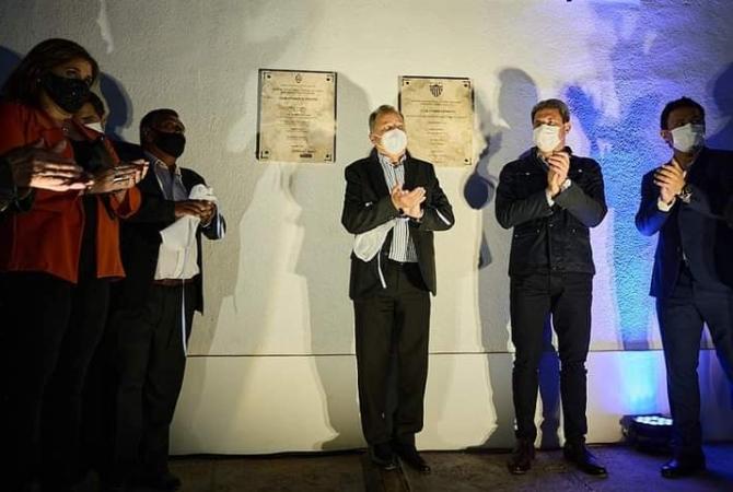 Inauguraciones en el Club Atenas de Pocito