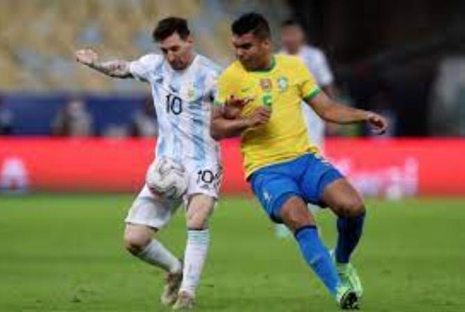 Argentina visita a Brasil: formaciones, hora y TV