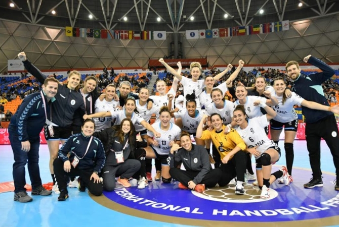 Handball: Argentina venció a Congo