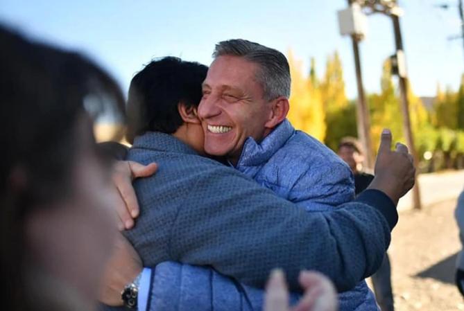 Mariano Arcioni se impone en las elecciones en Chubut