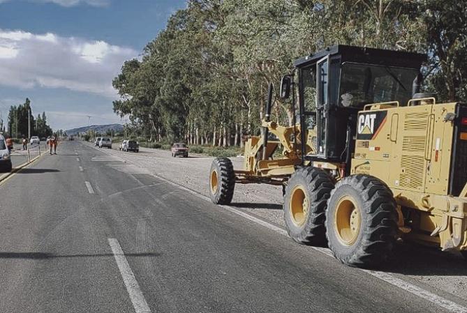 Vialidades Nacional y Provincial reparan rutas dañadas por el sismo