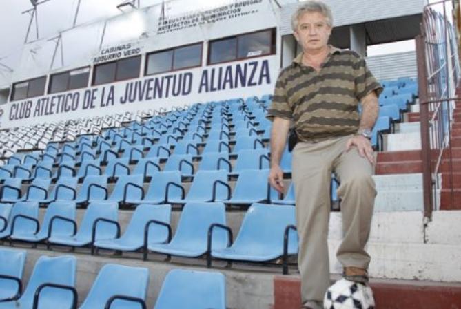 Roquiño Mallea contó la dura situación del fútbol local