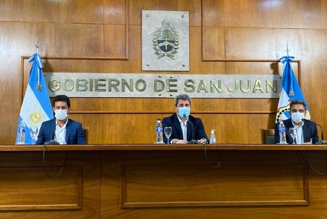 Uñac anunció la suspensión de la Vuelta a San Juan