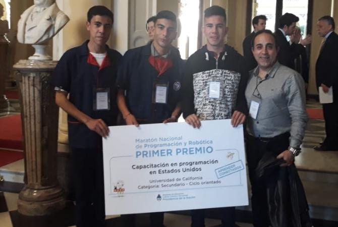 Sanjuaninos ganaron la Maratón Nacional de Programación y Robótica