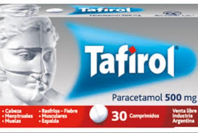 ANMAT prohibió el uso y venta de un lote de Tafirol