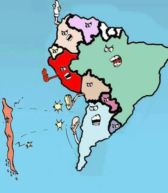 Chile sin mundial y los argentinos no se lo dejaron pasar