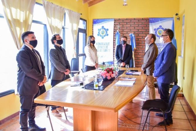 El intendente de Jáchal abrió sesiones en el Concejo