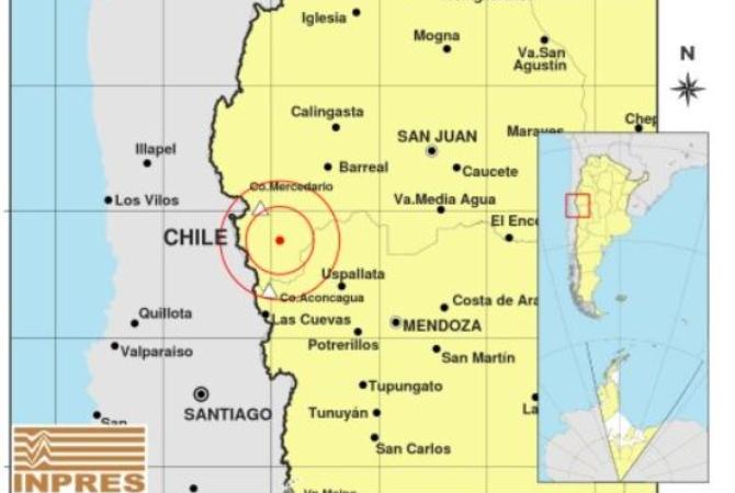 Un fuerte temblor sacudió la mañana sanjuanina