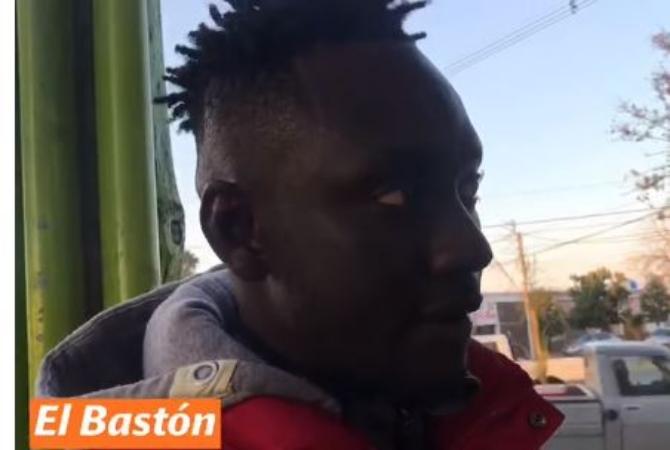 Habló el senegalés que golpeó a una mujer en la plaza de Caucete