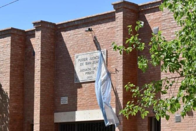 Confirman caso positivo de Covid en el juzgado de Paz de Pocito