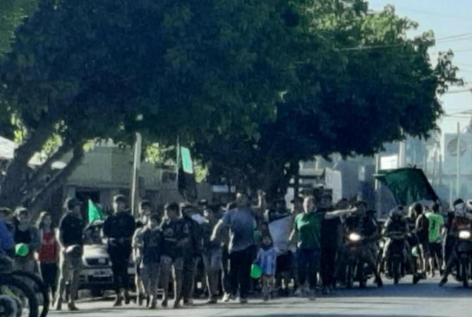 Violando el protocolo sanitario, hinchas de San Martín festejaron los 113 años