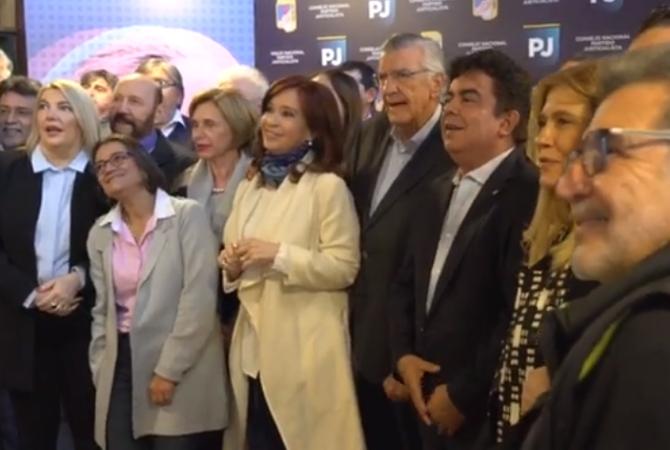 ¿Cristina candidata?: se reunió con el PJ y pidió una coalición amplia