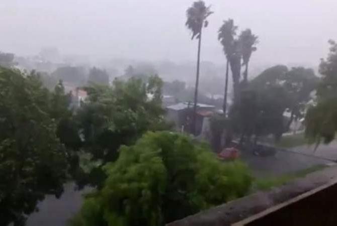 ALERTAN por fuertes lluvias y viento sur