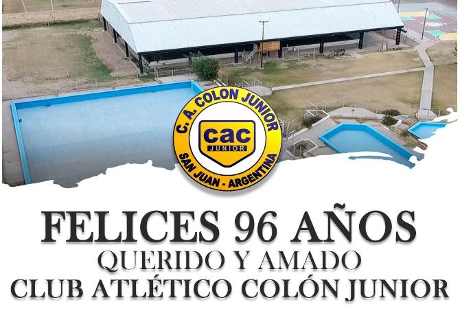 Colón Junior cumple 96 años de vida