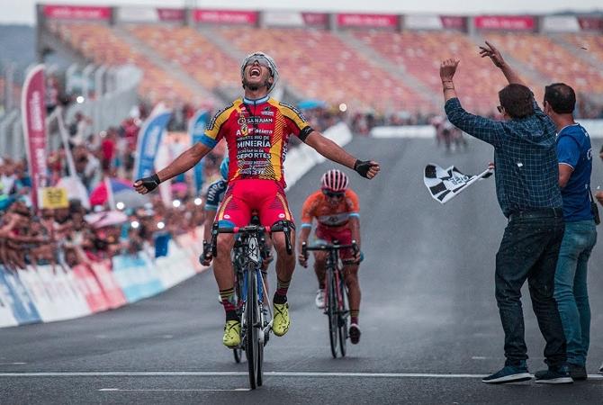 Nico Tivani hizo historia y se quedó con la sexta etapa de la Vuelta