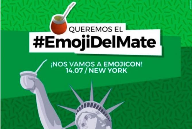 El Emoji del Mate se defiende en Nueva York