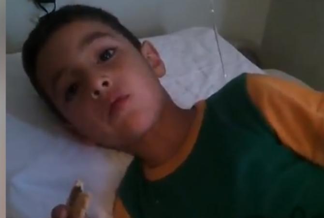 El vídeo de agradecimiento que Benja grabó desde el hospital