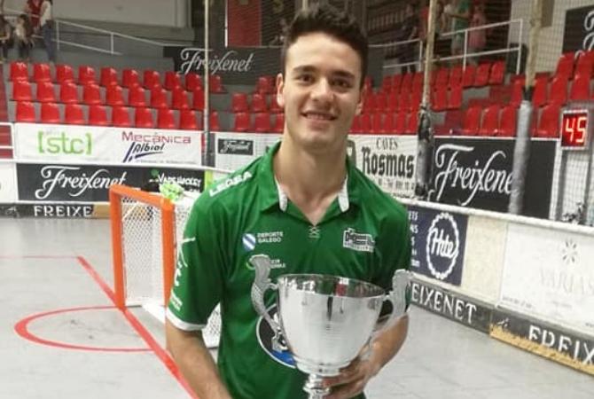 El sanjuanino que es campeón de la Supercopa de hockey de España
