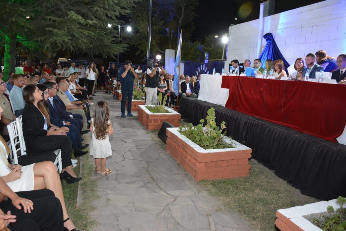 Rivadavia abrió sesiones con promesas de urbanizar la ciudad