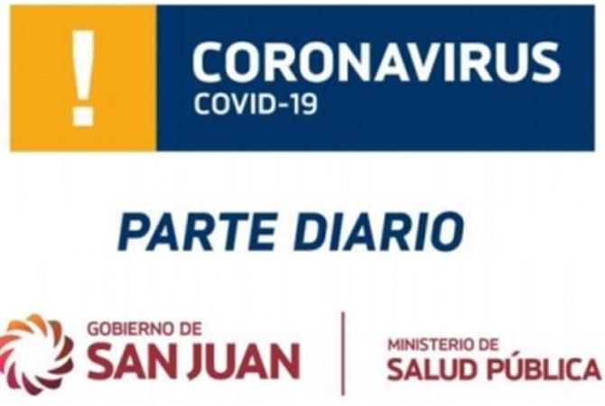 COVID: siguen en aumento los casos en San Juan, hoy 216