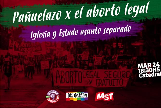 Hoy marchan a favor del aborto y de la separación de Iglesia y Estado