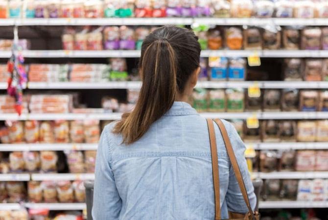 La inflación en las góndolas se desaceleró levemente por tercer mes consecutivo