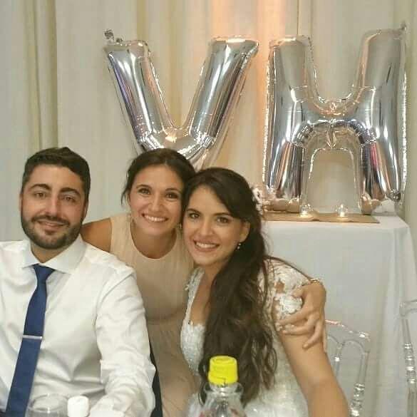 Se casaron Victoria Nacusi y Hugo Vinzio