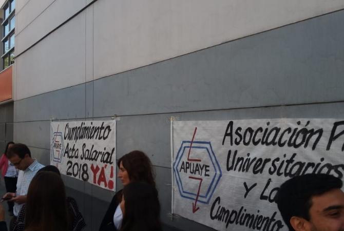 Los profesionales de Energía San Juan paran hoy por reclamos salariales