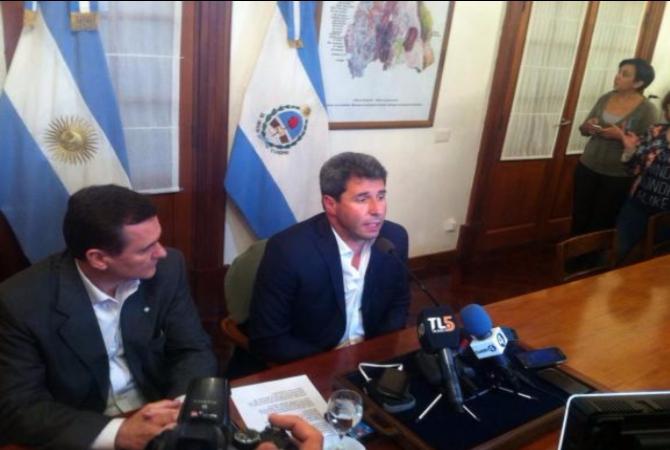 Uñac ordenó suspender las actividades en Veladero