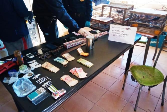 Cae peligrosa banda jachallera: elementos robados, droga y algo más