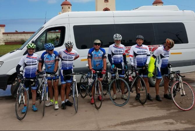 Hoy regresa a San Juan el grupo de ciclistas que fue a La Serena