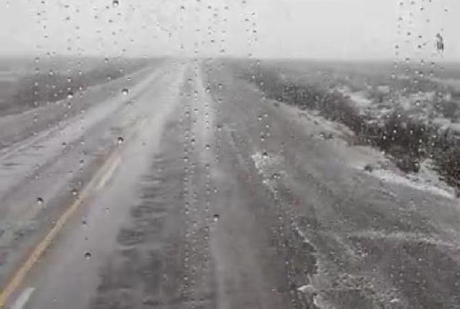 ¡LLEGÓ EL FRÍO! escarcha y neblina en El Colorado