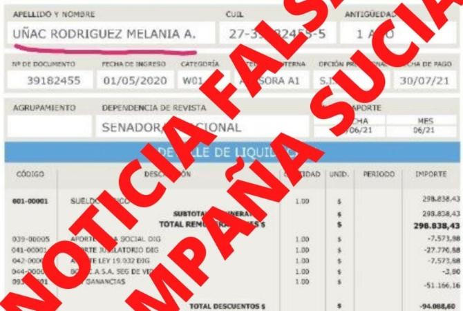La hija de Uñac inicia acciones legales por publicaciones que se viralizaron