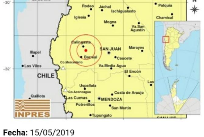 Fuerte temblor en San Juan