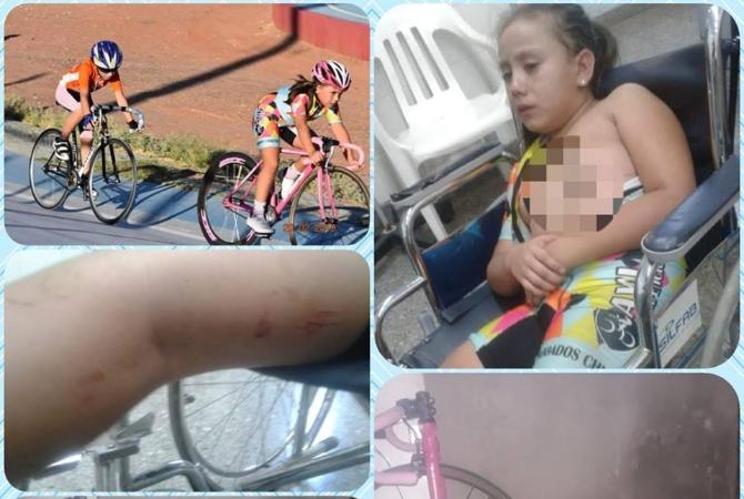 Piden ayuda para que una promesa del ciclismo arregle su bicicleta