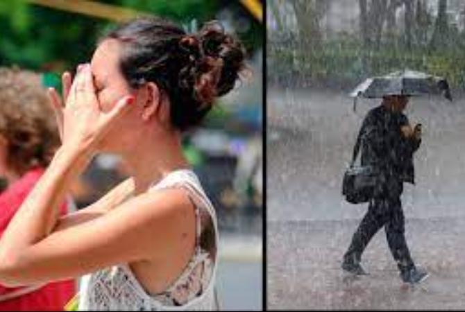 Lluvias, vientos y calor: el loco pronóstico del tiempo para este finde