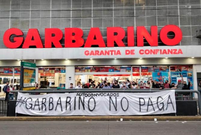 Garbarino cierra la sucursal de la peatonal