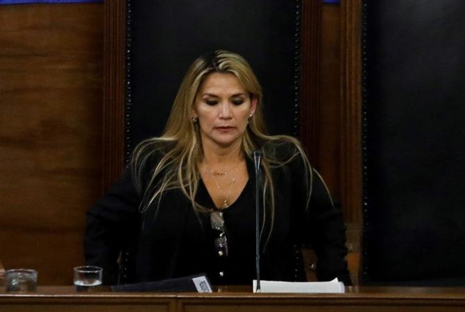 Jeanine Áñez: Asumo de inmediato la presidencia de Bolivia prevista en el orden constitucional