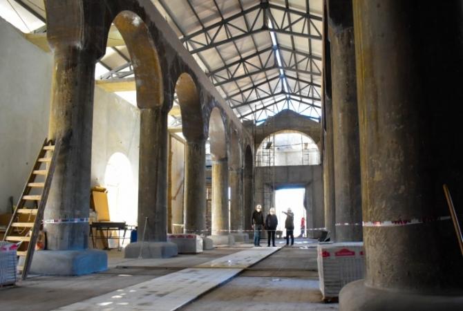 Cómo avanza la obra de la nueva iglesia de Jáchal