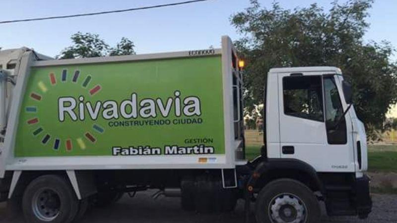 Como será la recolección de residuos en Rivadavia