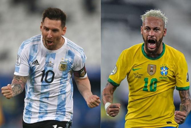 Argentina-Brasil se jugaría a las 16 horas