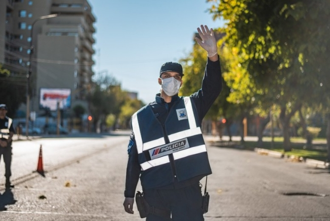 En el cuarto día de cuarentena, 25 detenidos por no acatar