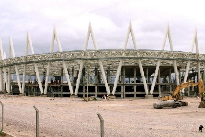 En marzo de 2022 podría estar terminado el velódromo de Pocito