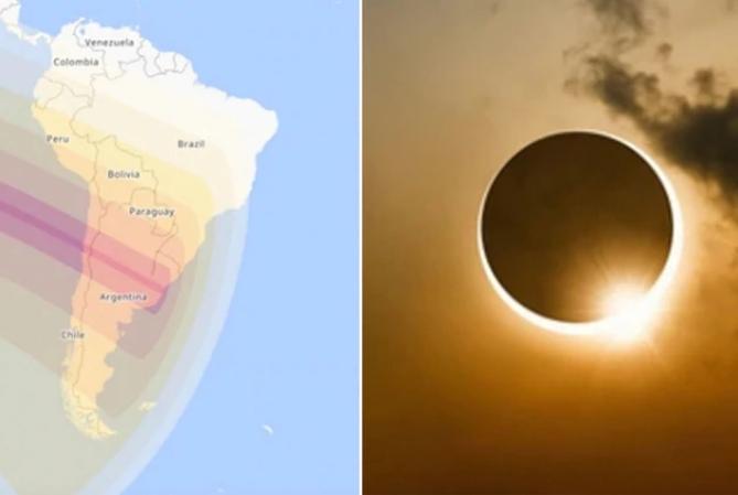Cómo hacer un proyector casero para ver el eclipse de Sol y evitar daños en los ojos